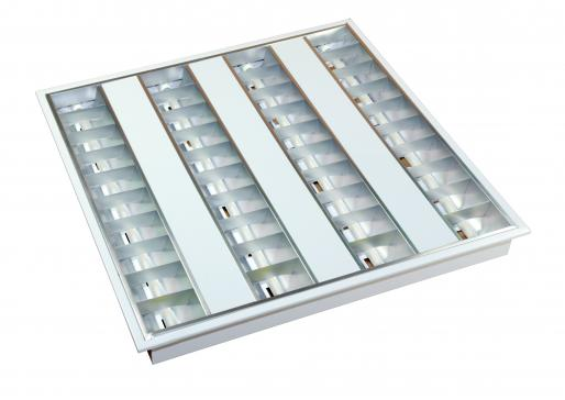 Ceiling Recessed - 600 x 600 - EFO 1A 004 - 1