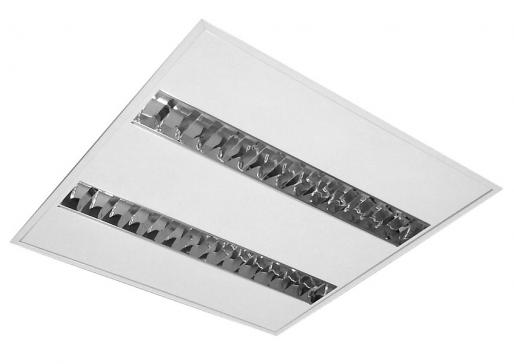 Ceiling Recessed - 600 x 600 - EFO 1A 002 - 1